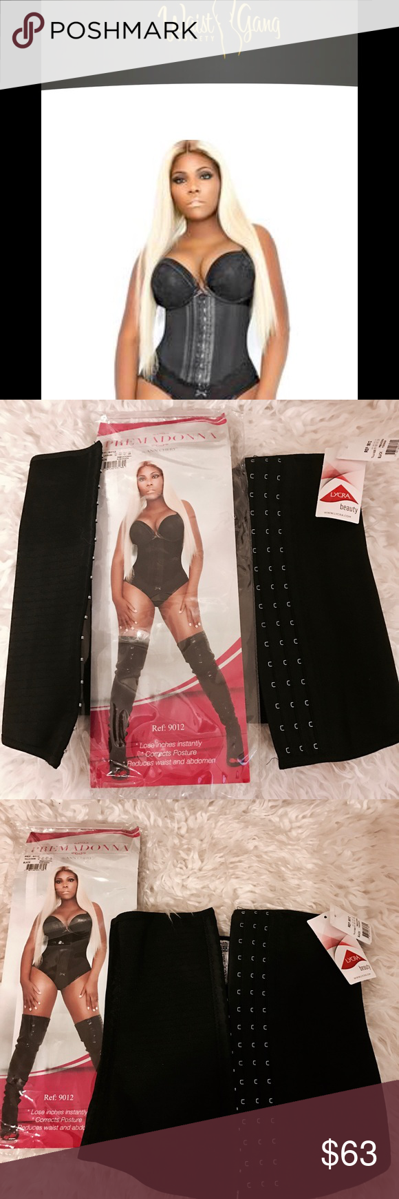 6e01636546 NWT❤️Waist Gang Society Premadonna Waist Trainer M Waist Trainers that keep  you sexy and