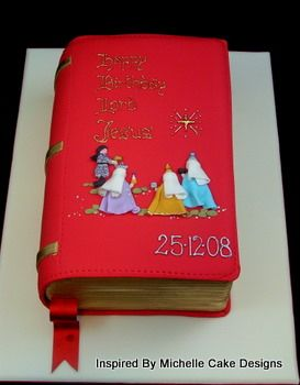 Image from http://www.inspired-by-chocolate-and-cakes.com/images/christmas-fondant-cakes-bible-006.jpg.
