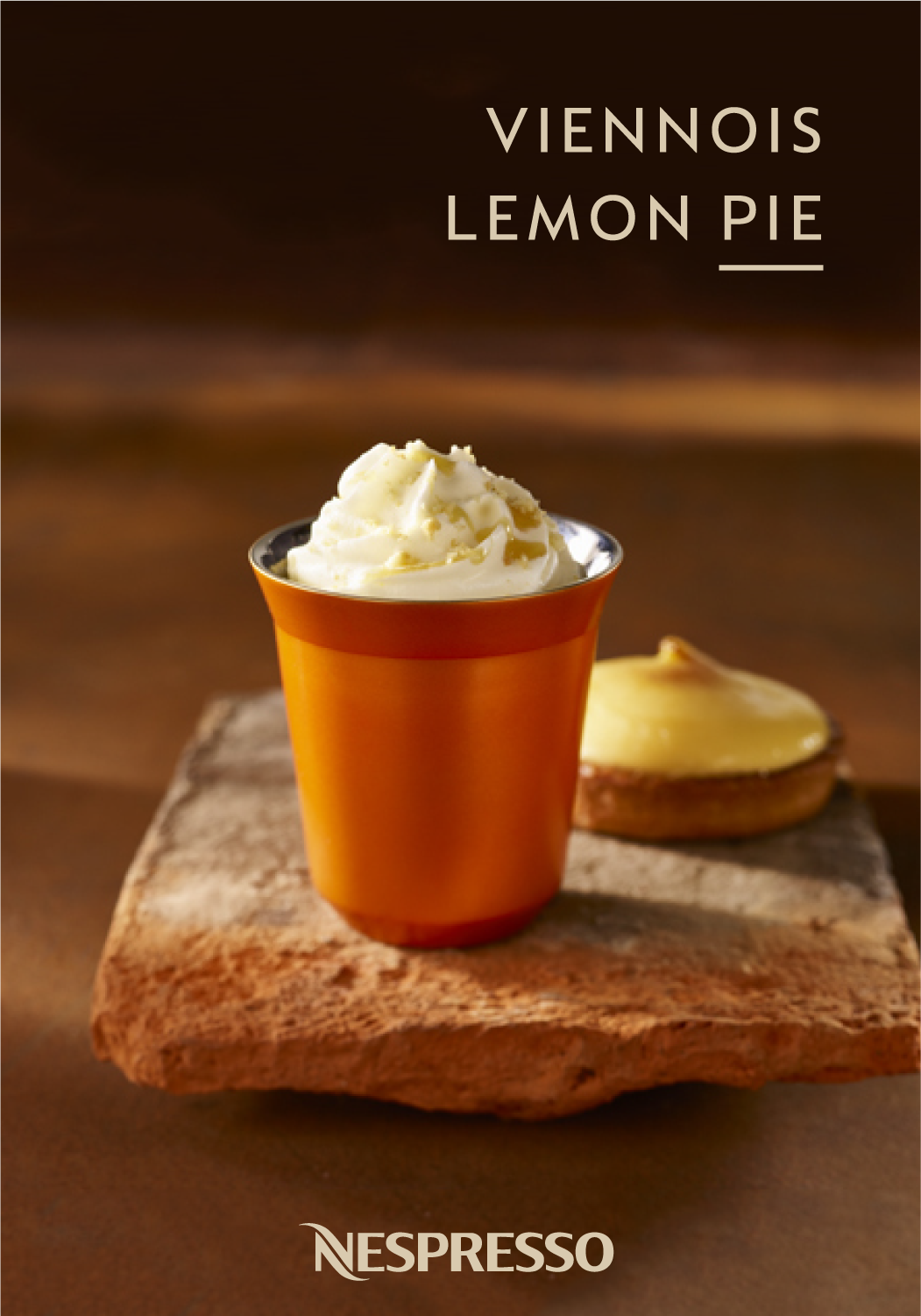 Sometimes, you just need a little something sweet to finish off your day. Check out this Viennois Lemon Pie recipe from Nespresso for an indulgent treat that you'll look forward to all day long. Savor the richness of Linizio Lungo Grand Cru as it mixes with cream, lemon pie syrup, and honey. Finish off with a fleur de sol biscuit for a sweet dessert coffee that's hard to beat.