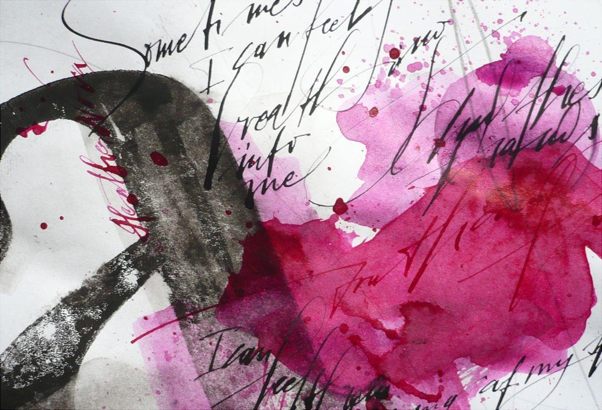 Artmann Sigrid Kalligrafie Und Schriftkunst Ludwigsburg 2009 2016 Schriftkunst Kalligrafie Abstrakte Malerei