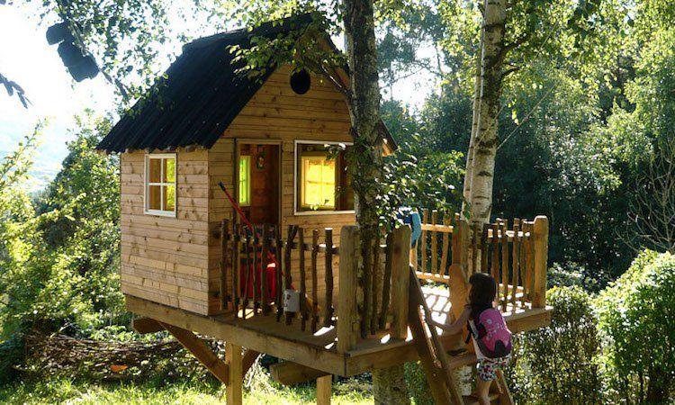 baumhaus für größere kinder terrasse garden house kids