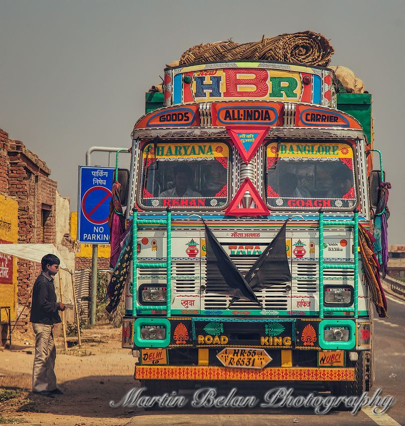 Indian Street Photography (With images) India, Truck art