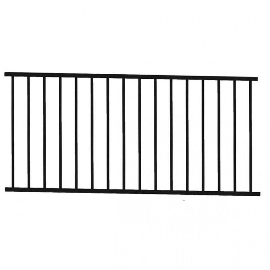 Excalibur Galvanized Steel Railing Panel By Rdi Steel Railing Iron Stair Railing Vinyl Railing