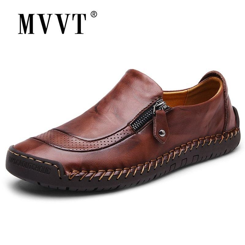 Klassieke Comfortabele Mannen Casual Schoenen Instappers