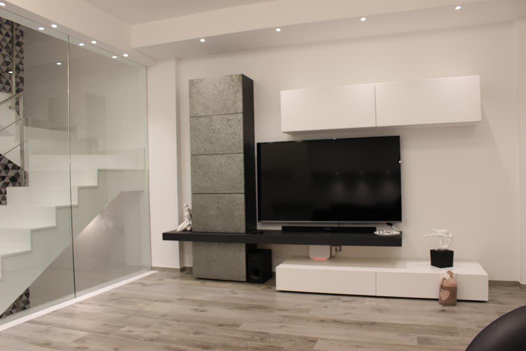 Progetto Soggiorno ~ Foto di soggiorno in stile in stile moderno progetto