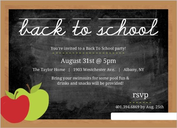 Image Result For New School Opening Invitation Template Invitation - Party invitation template: class party invitation template