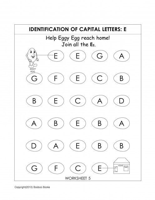 kindergarten alphabet worksheets alphabet worksheets. Black Bedroom Furniture Sets. Home Design Ideas