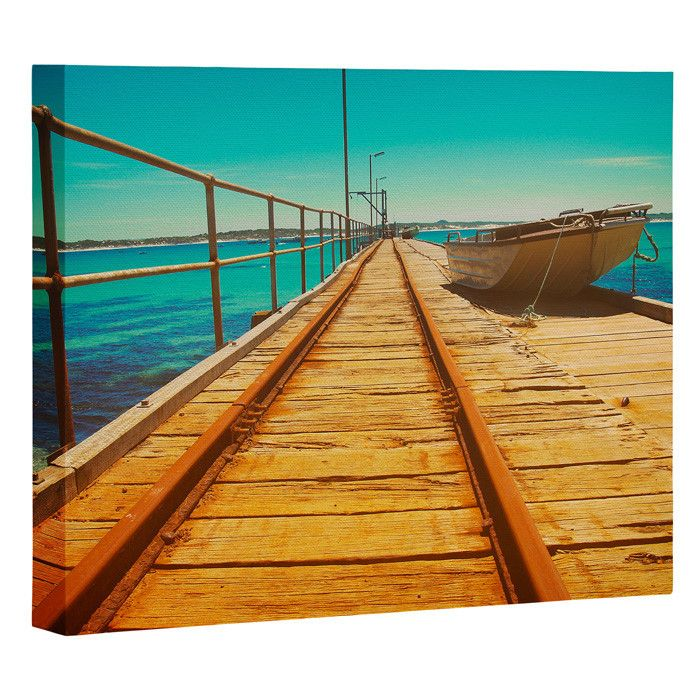 Happee Monkee The Jetty Art Canvas   DENY Designs Home Accessories