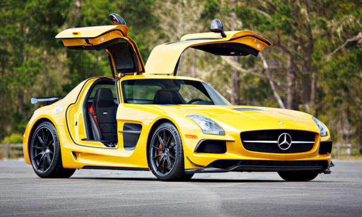 Mercedes Sls Amg Black Series Is Considered The Best Modern Classic Supercar In 2020 Super Cars Black Series Amg