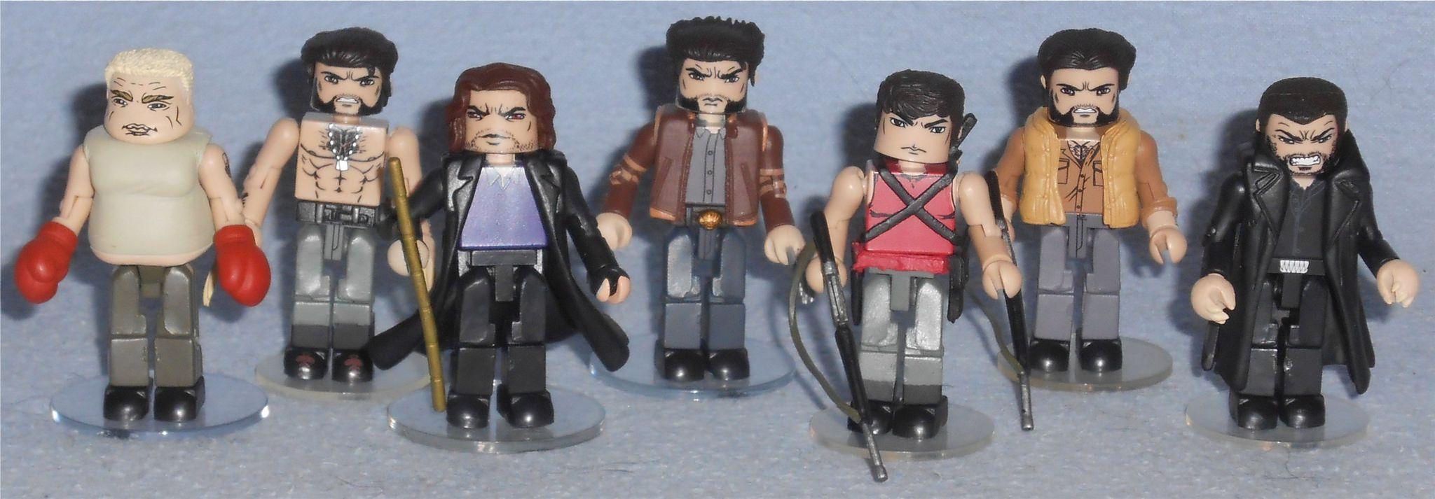 Minimates X Men Origins Wolverine X Men Wolverine Marvel X