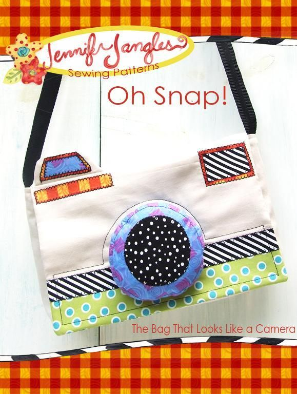 Oh Snap! Camera Purse pattern on Craftsy.com | Carteras y bolsos ...