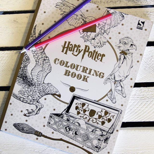 Kennt ihr eigentlich schon unser Harry Potter Malbuch? Wir sind ganz ...