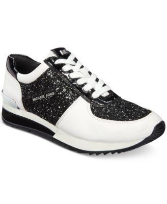 1b77ff6b3e478 MICHAEL KORS Michael Michael Kors Allie Wrap Trainer Sneakers ...
