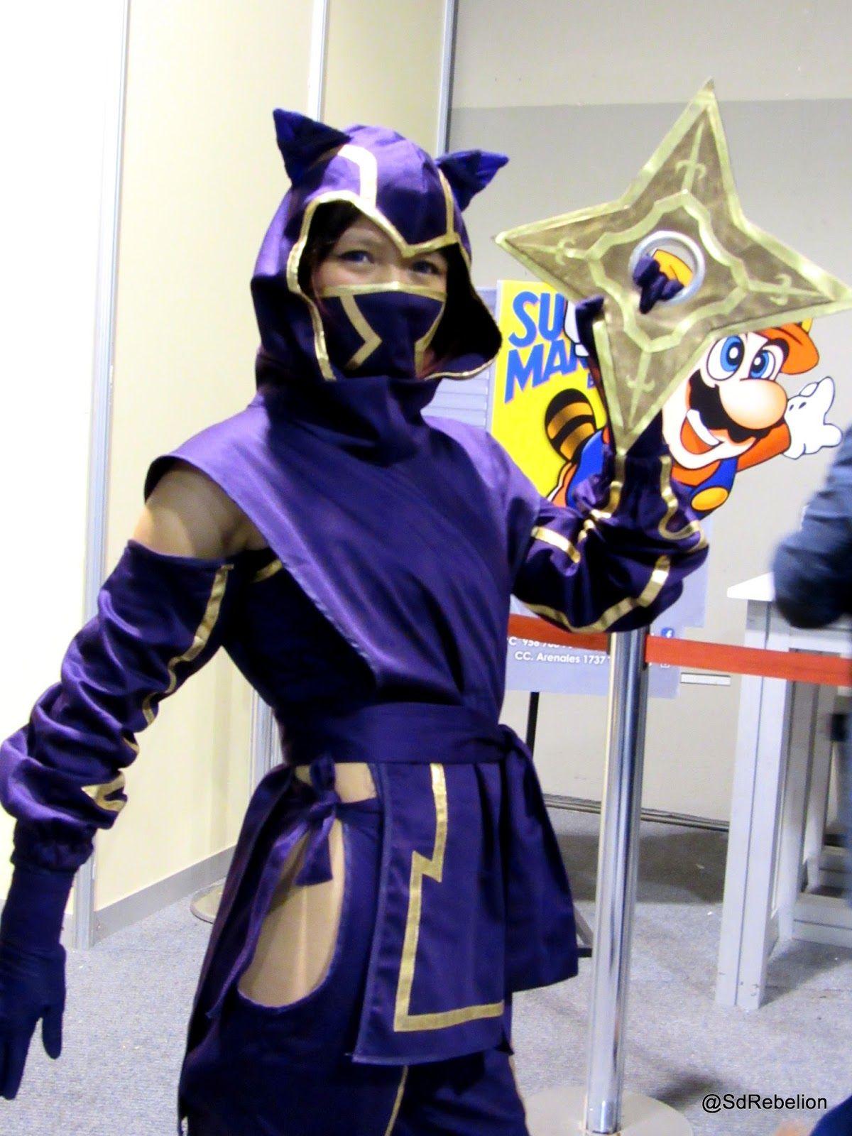 Kennen league of legends sexy costume