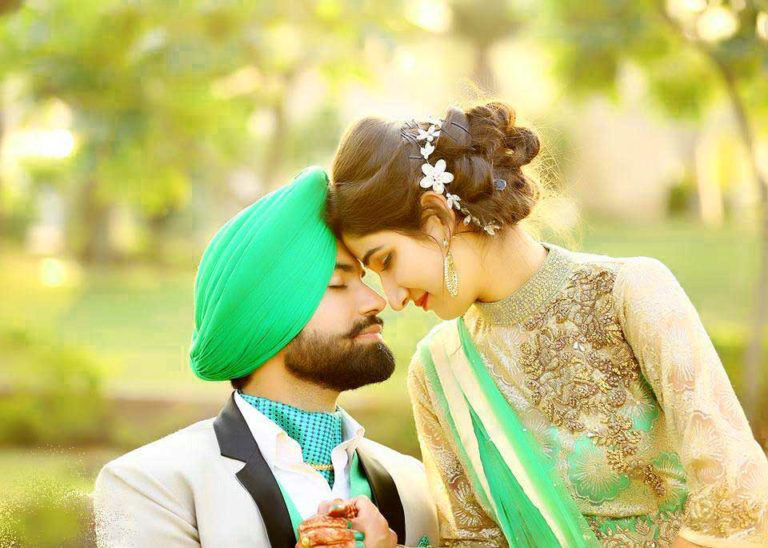 Punjabi Couple Wedding Images Wallpaper Pics Download Punjabi Couple Love Couple Images Wedding Images