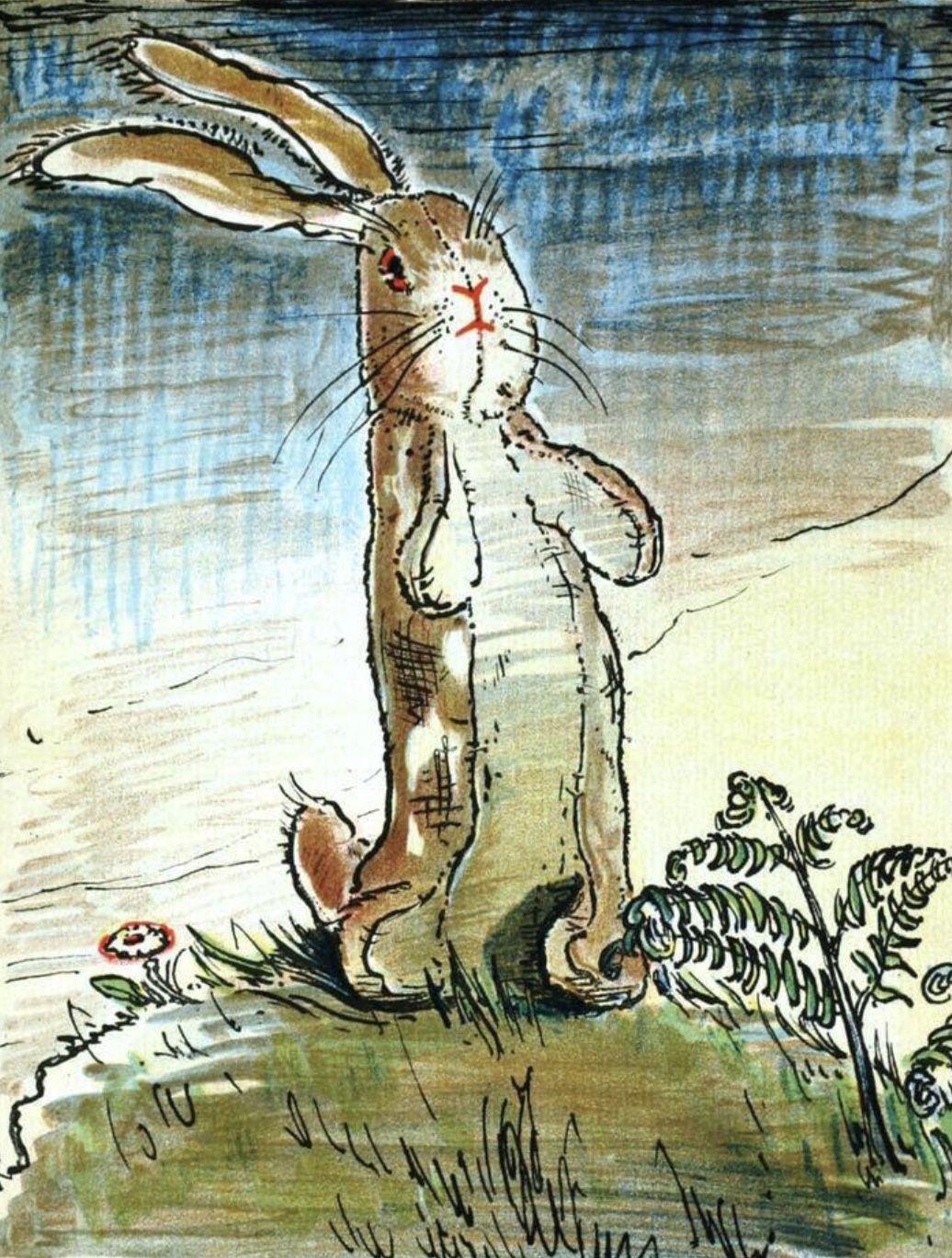 Pin by shelley n on Good Grief in 2020   Velveteen rabbit, Art, Instant art