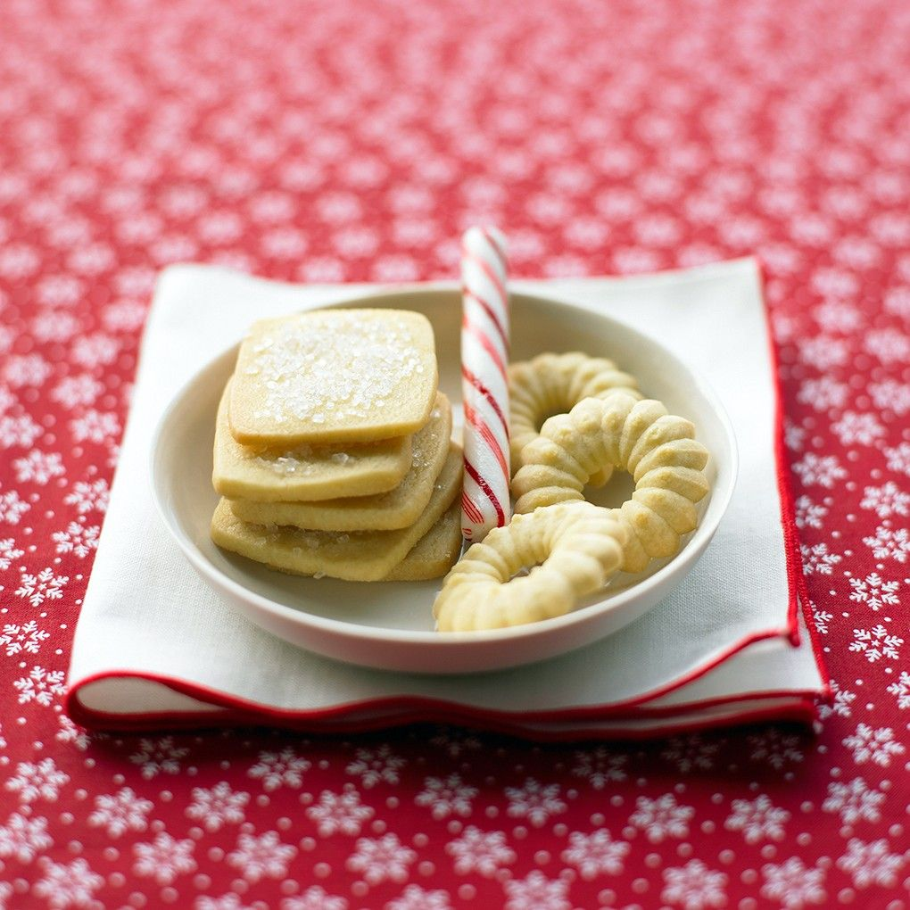 One basic dough can make very different but equally delectable cookies -- Spritz Butter Cookies, Cut-Out Butter Cookies, and Icebox Butter Cookies.