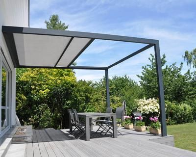 interessantes dach mit verschattung garten. Black Bedroom Furniture Sets. Home Design Ideas