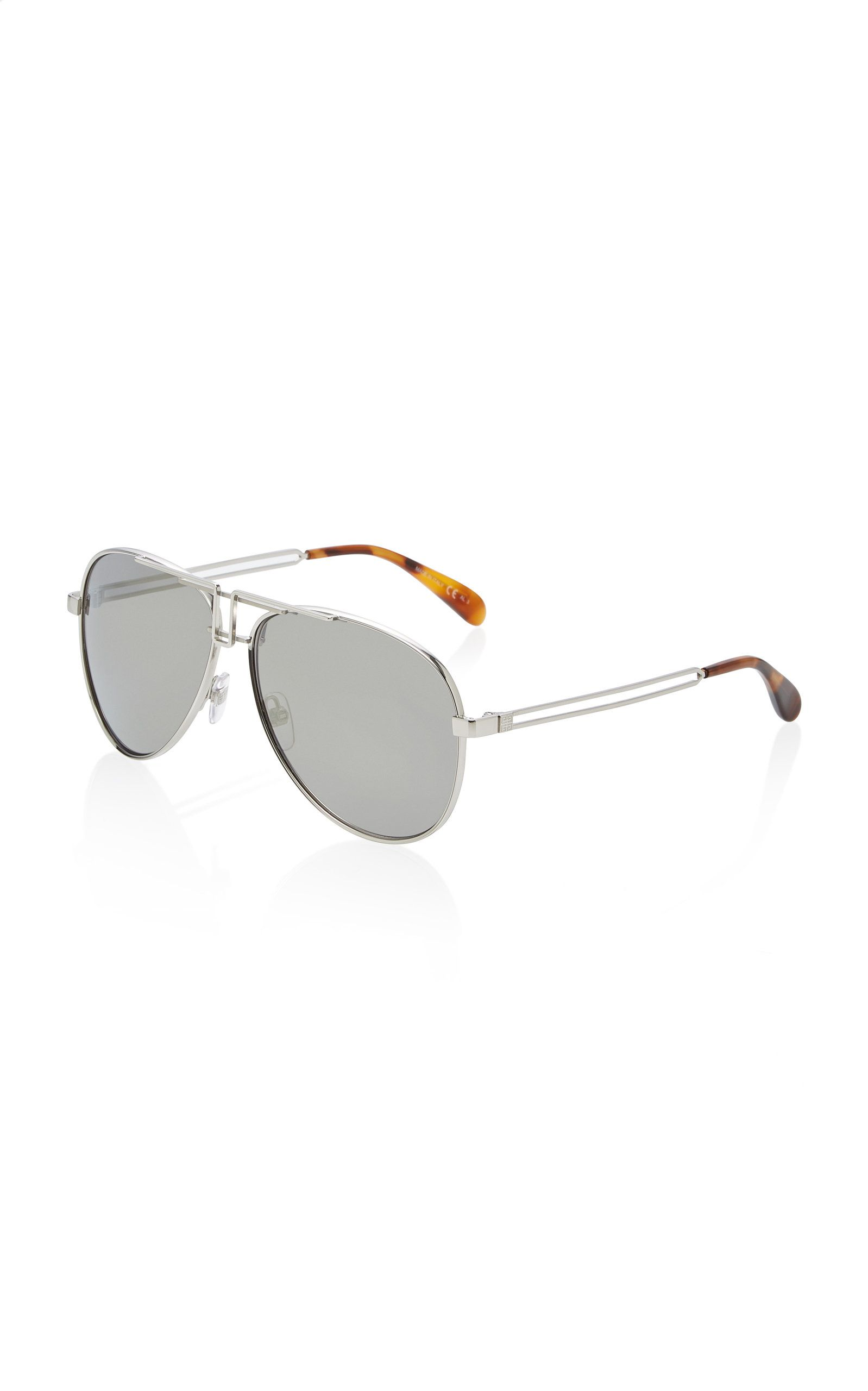 Metal Aviator Sunglasses by Givenchy | Moda Operandi