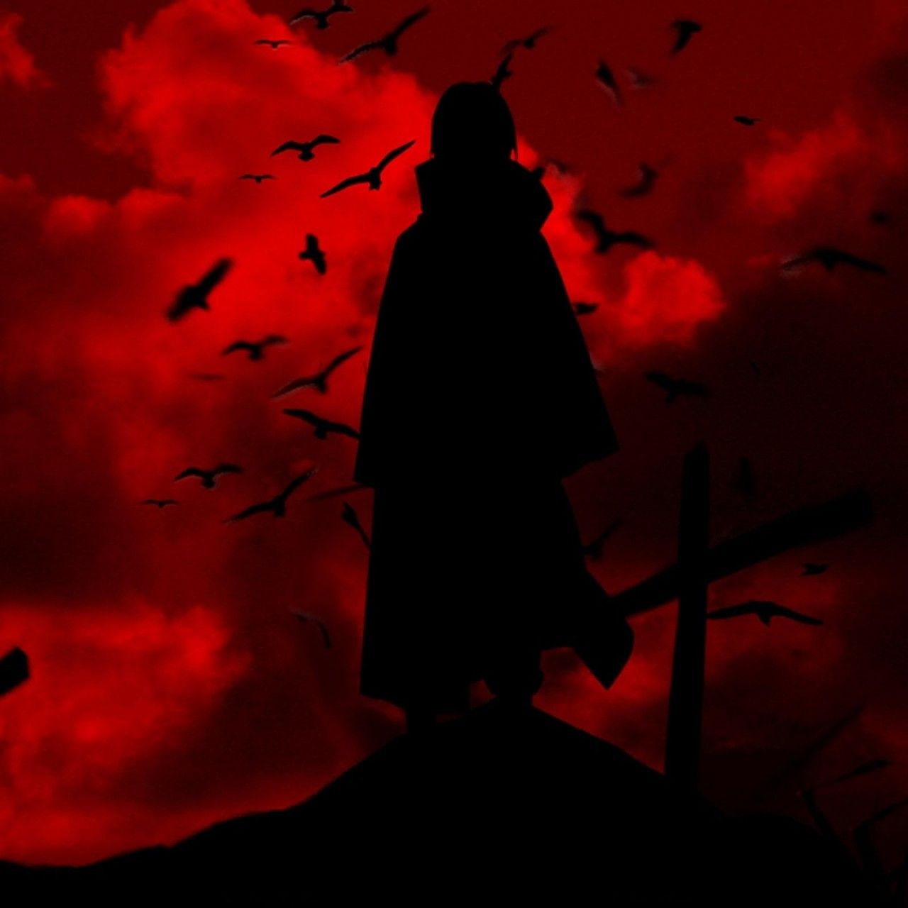 Image For Uchiha Itachi Crow Wallpaper Free Desktop