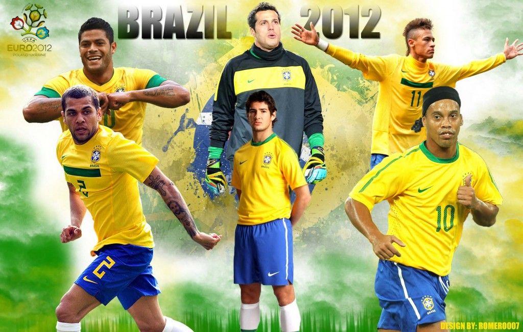 Brazil National Team 2012 Wallpapers HD