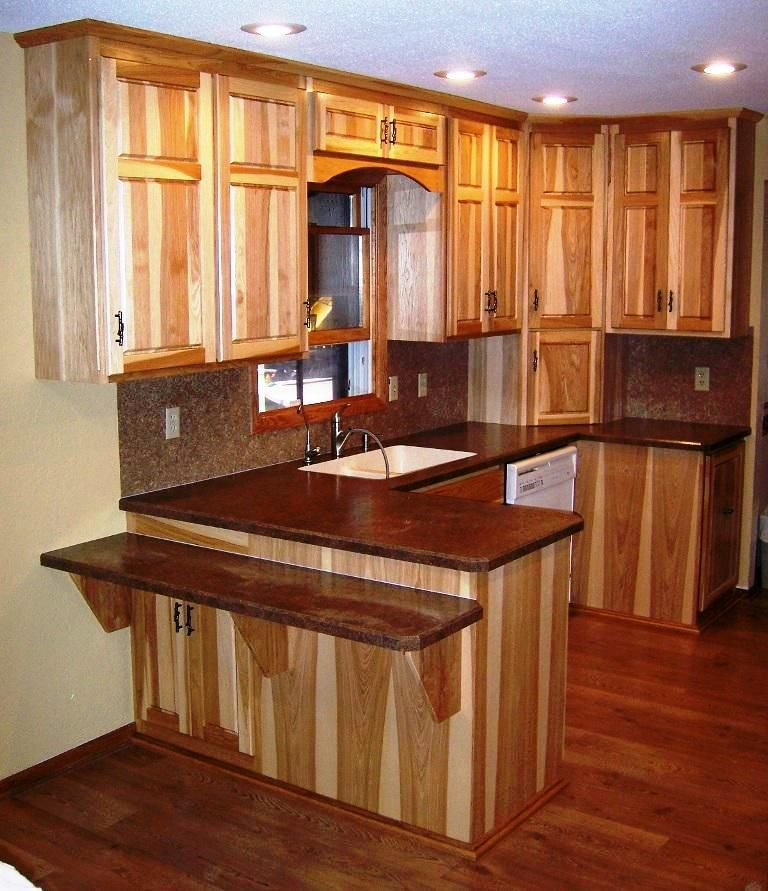 Design Kitchen Cabinet Online: Beautiful Hickory Kitchen Cabinets Design Ideas ,When You