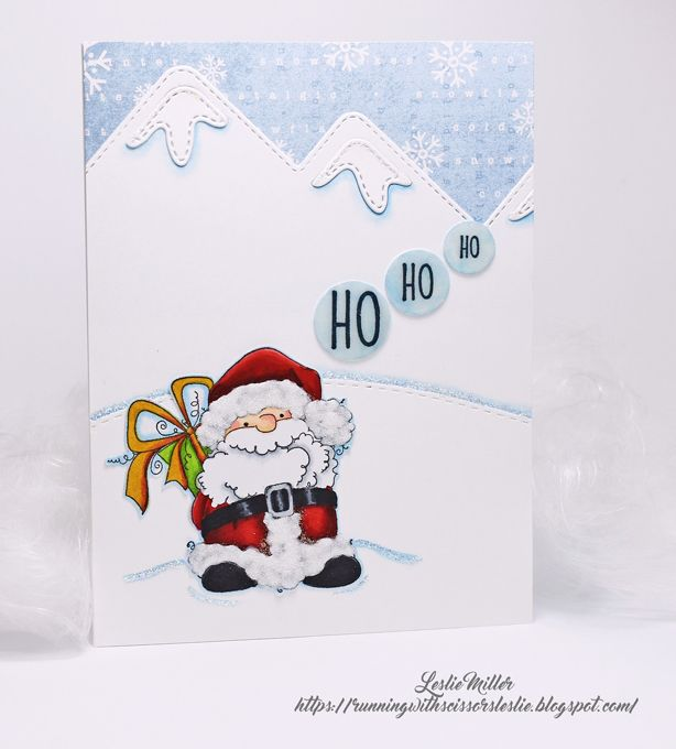Cas Santa Christmas Cards Cards Birthday Cards