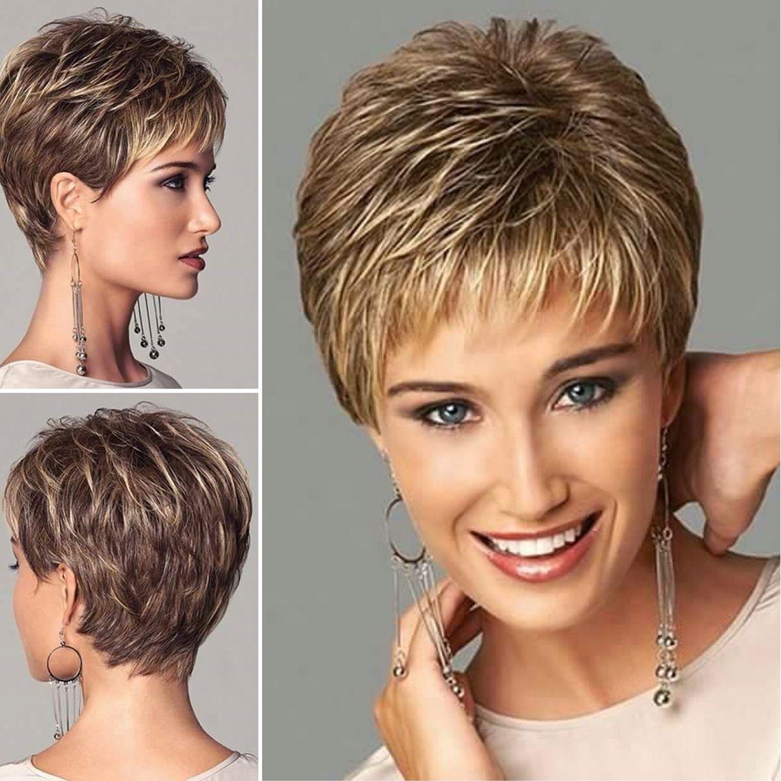 Boy hairstyle wigs beautiful colours u cut  korte kapsels dames  pinterest  hair