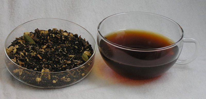 Royaler Black Chai Tea in der Teetüte von Königreich Kottopia auf DaWanda.com