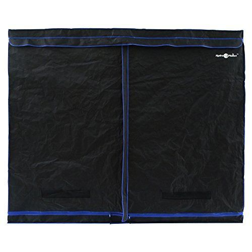 Gardening DIY Get $132.00 Hydroplanet 96x48x80 Mylar Hydroponic EXTRA-THICK CANVAS Grow Tent for Indoor Plant Growing (96x48x80) Now!