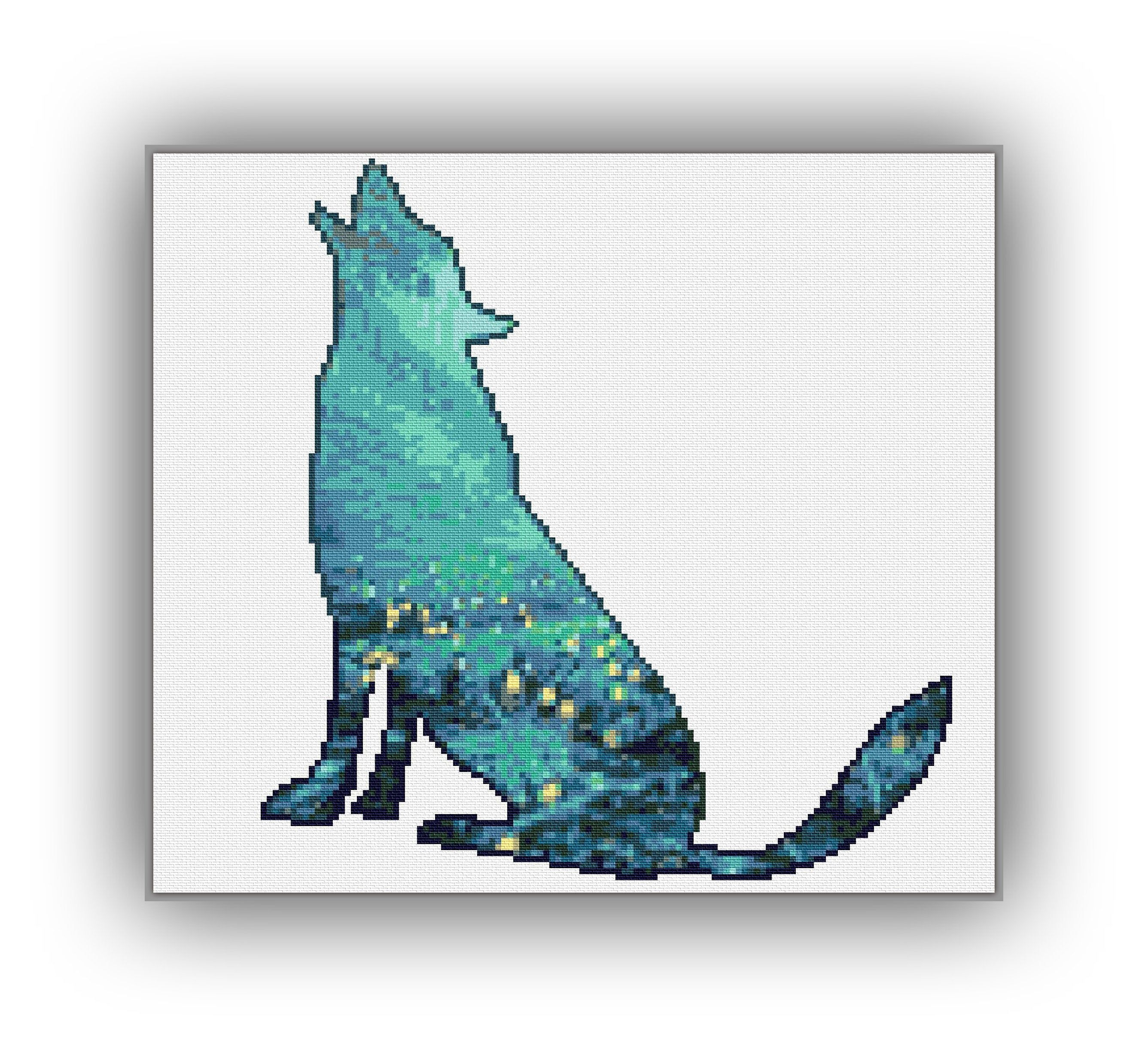 Mystic Design Cross Stitch Instant Download PDF Pattern 18