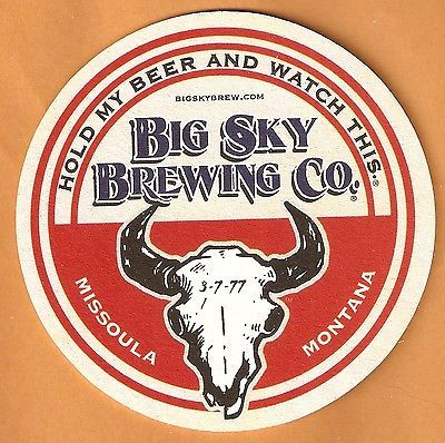 Moose Drool Bottle Cap 16 Big Sky Brewing Co Draw Your