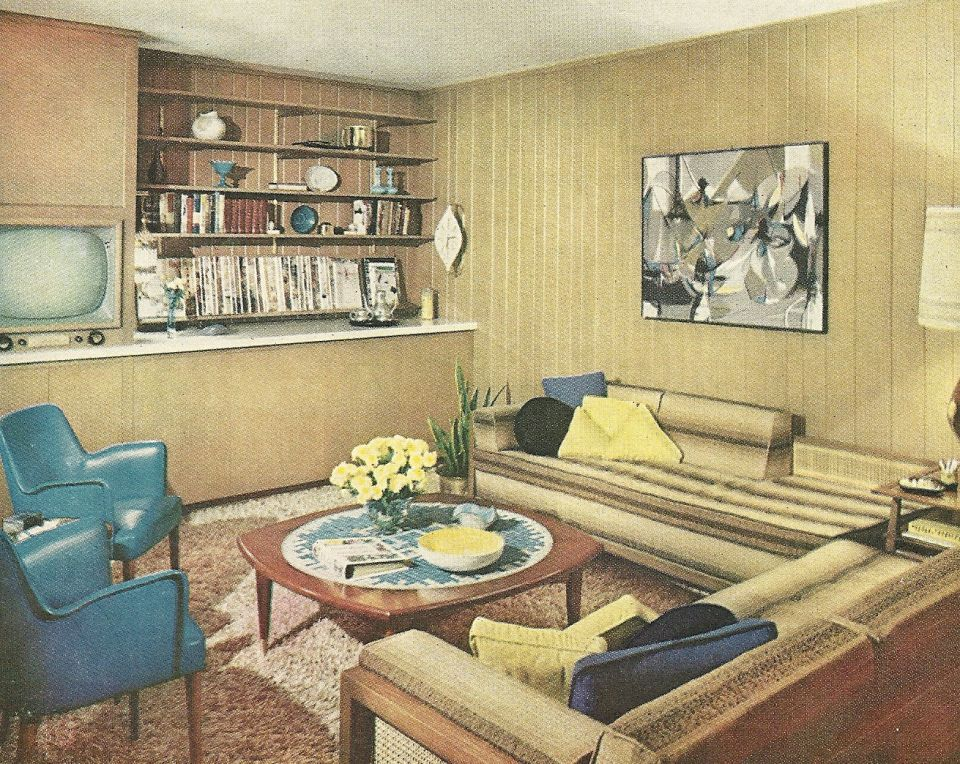 1960s living room 1960 house decor 1960s decorating vintage home decor 10390