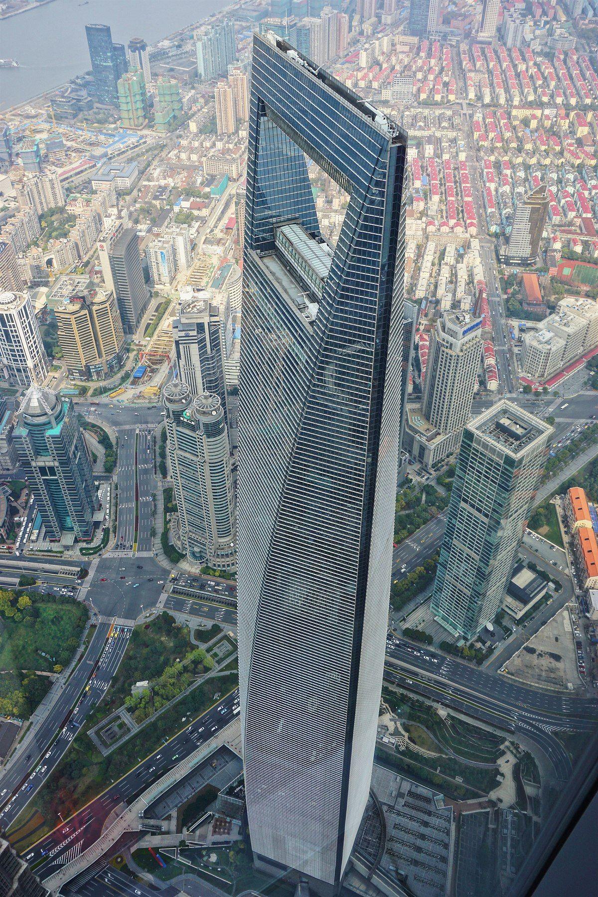 Shanghai World Financial Center Wikipedia Skyscraper Shanghai World Financial Center Amazing Buildings