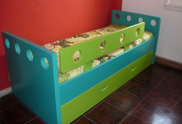 Compro Cama infantil con baranda y carro   Habitaciones - Room ...