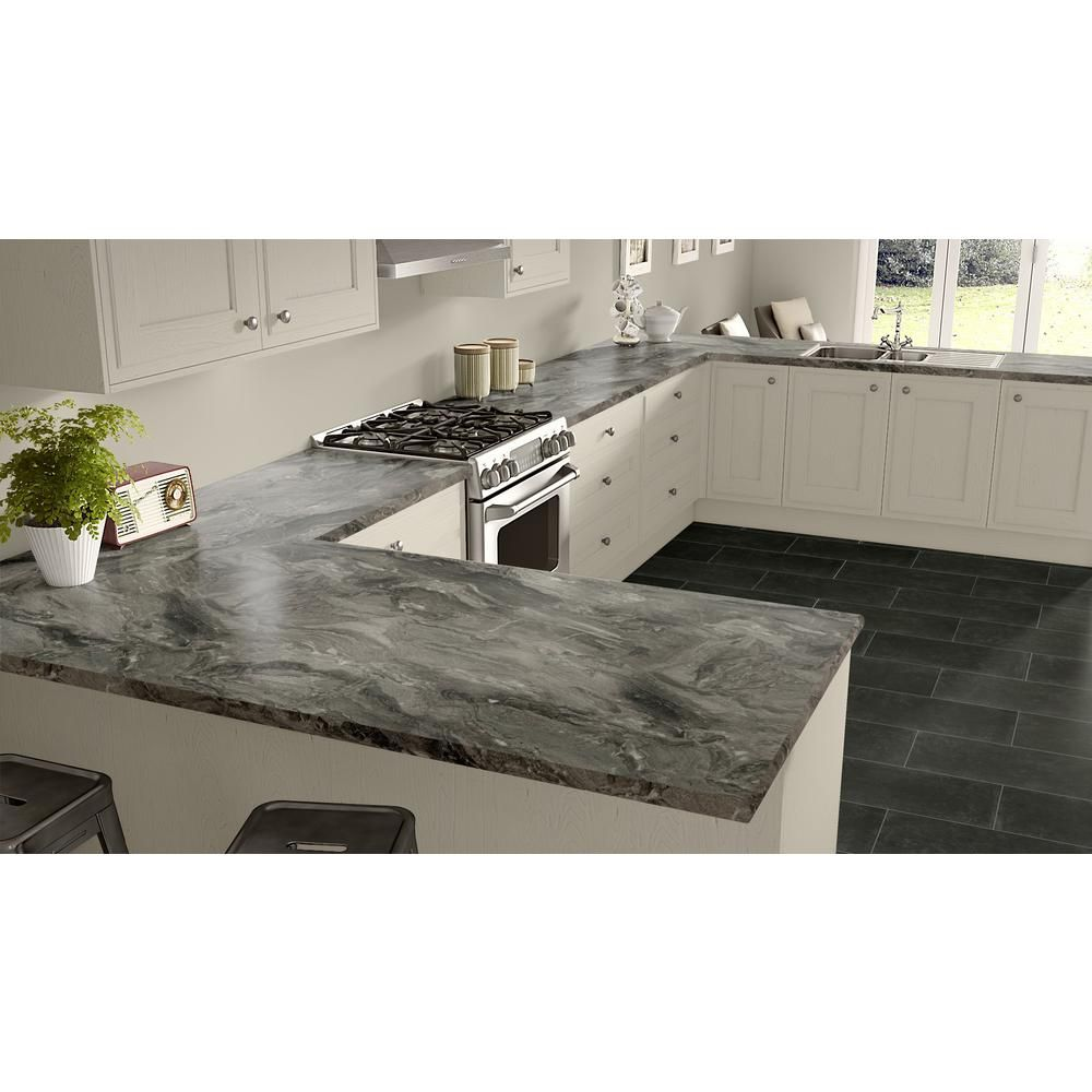 Wilsonart 4 Ft X 8 Ft Laminate Sheet In Lario Hd Glaze