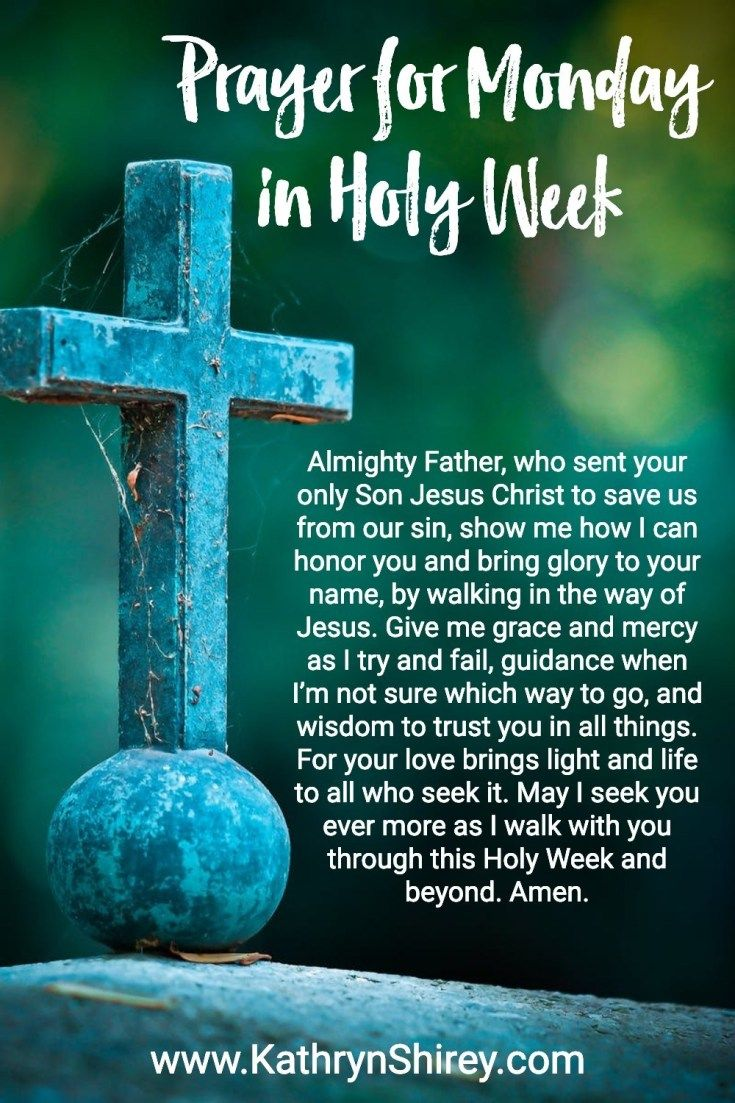 Holy Week Prayers to Prepare for Your Heart for Easter   Holy week prayer, Easter prayers, Prayers