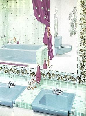 It S Easy To Add Mid Century Kitsch To Any Bathroom Retro