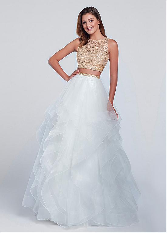 Buy discount Marvelous Tulle Jewel Neckline Two Piece Ball Gown Prom ...