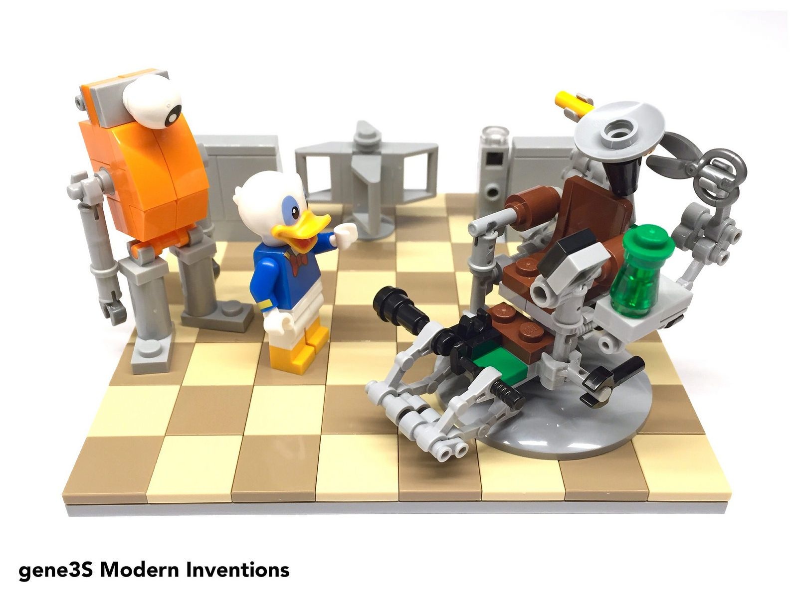 Amazing Modern Inventions Lego Creations Inventions Lego Machost Co Dining Chair Design Ideas Machostcouk