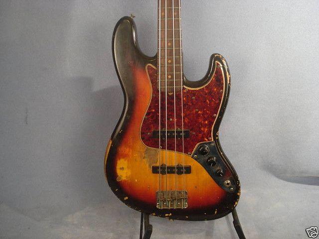 Fender Jazz Bass 1964 Pre Cbs Fender Jazz Bass Fender Jazz Fender Bass Guitar