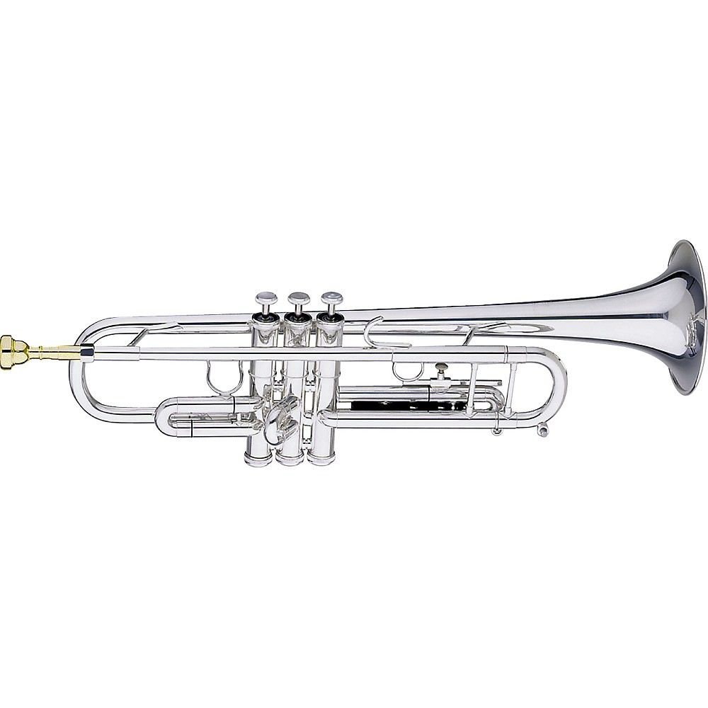 Getzen Getzen 590 S Capri Silver Trumpet With Accessories Value Pack