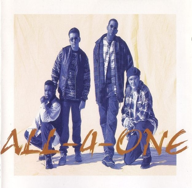All 4 One I Swear 1994 With Images All 4 One Music Love R B