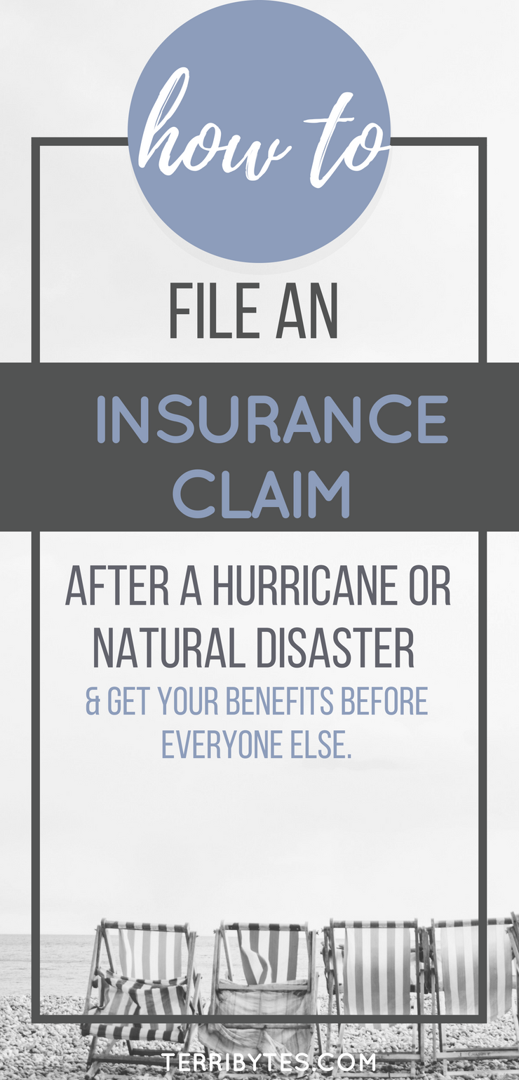 How To File An Insurance Claim After A Hurricane Or Natural
