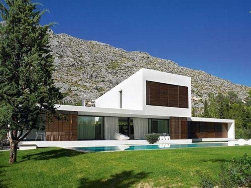 Hermosa casa minimalista en Mallorca #Casasminimalistas Casas - casas minimalistas