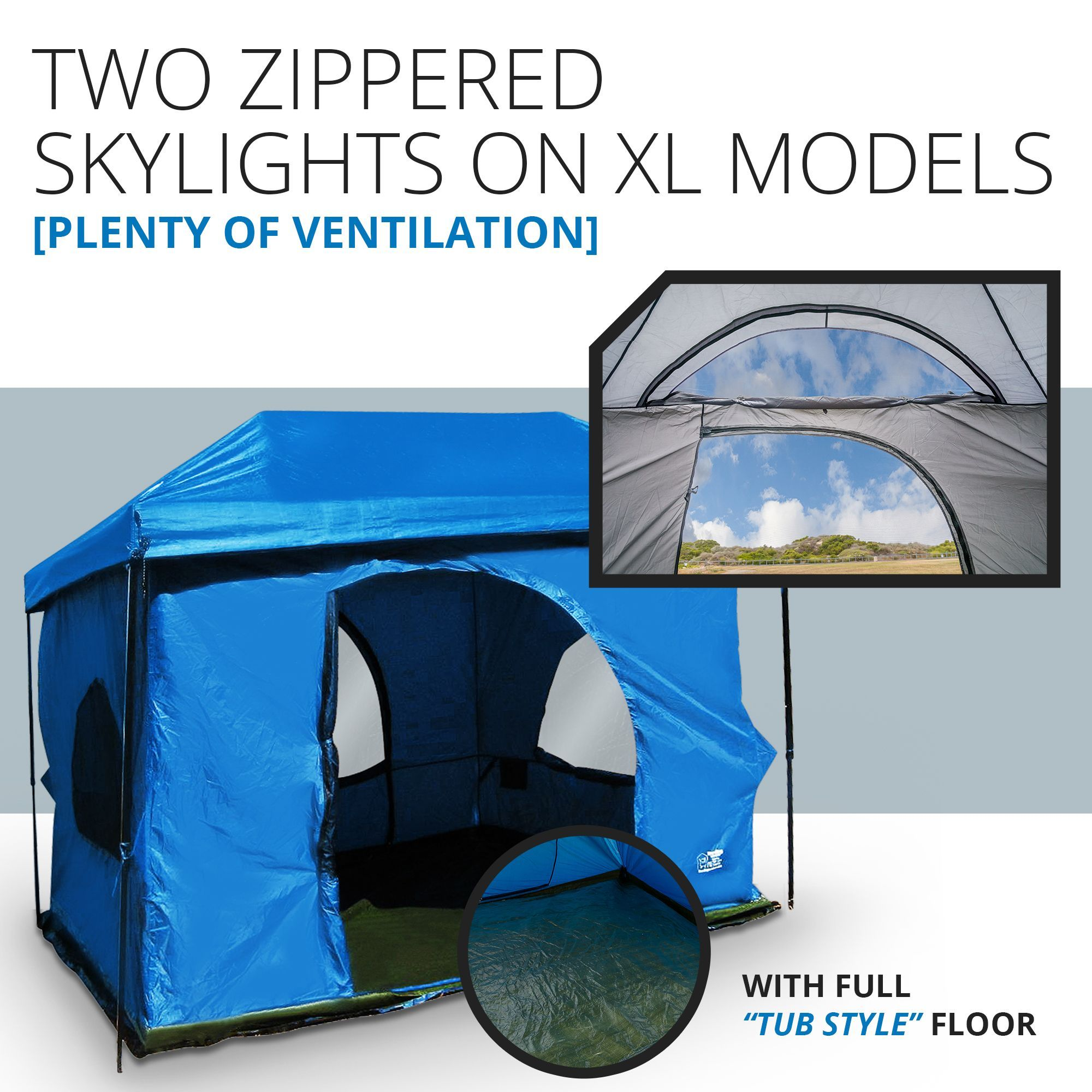 Affordable C&ing / Gl&ing tent with almost 9 feet of head room 2 doors   sc 1 st  Pinterest & Affordable Camping / Glamping tent with almost 9 feet of head room ...