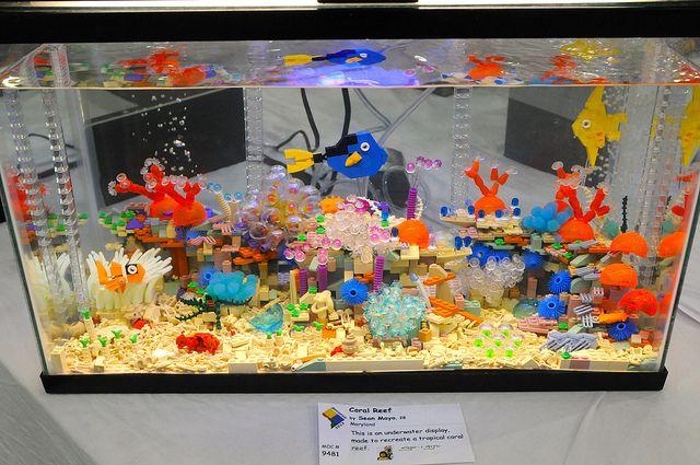 Western Bedroom Tank Toy Box Or: Lego Fish Tanks N Aquariums