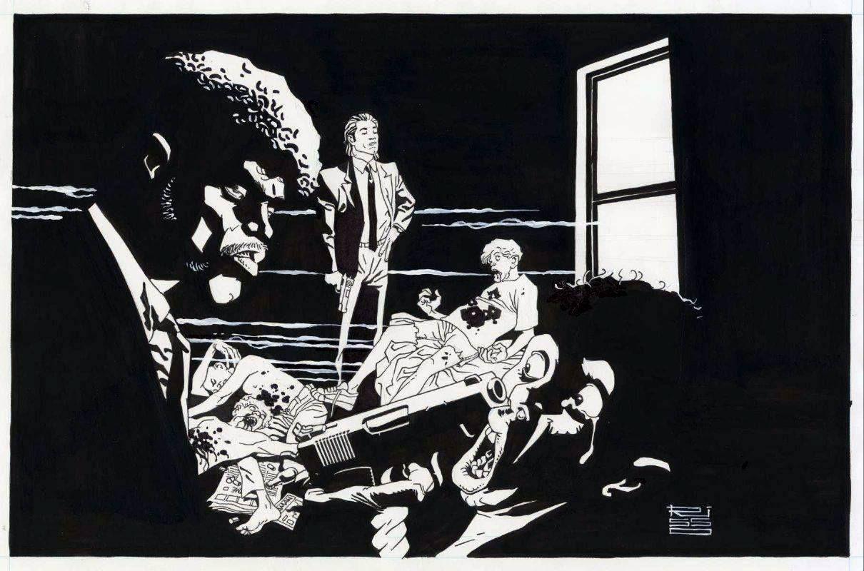 Pulp Fiction By Eduardo Risso Artistas Eduardo Risso Posteres
