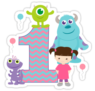 Baby Monsters Inc 1st First Birthday By Sweetsisters SO Adorable