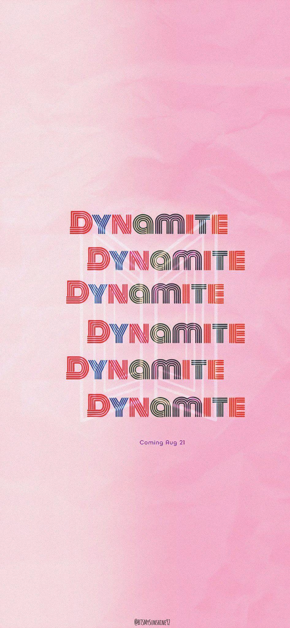 Dynamite In 2020 Bts Wallpaper Album Bts Bts Lockscreen